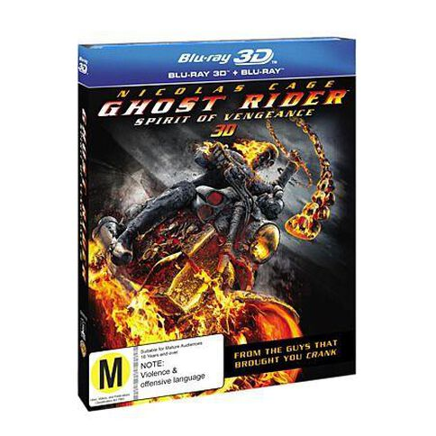 Ghost Rider 2 3D Blu-ray 1Disc