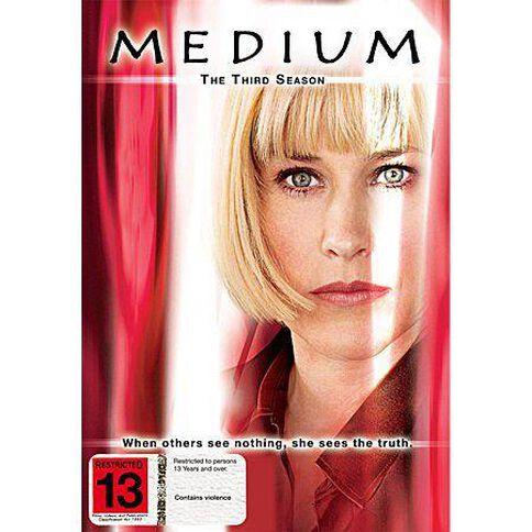 Medium Season 3 DVD 1Disc