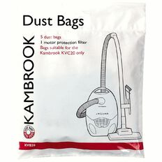 Kambrook Vacuum Bags for KVC20/23