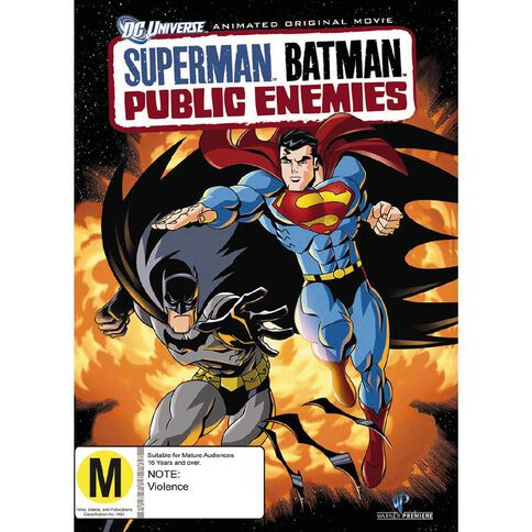 Superman Batman Public Enemies DVD 1Disc