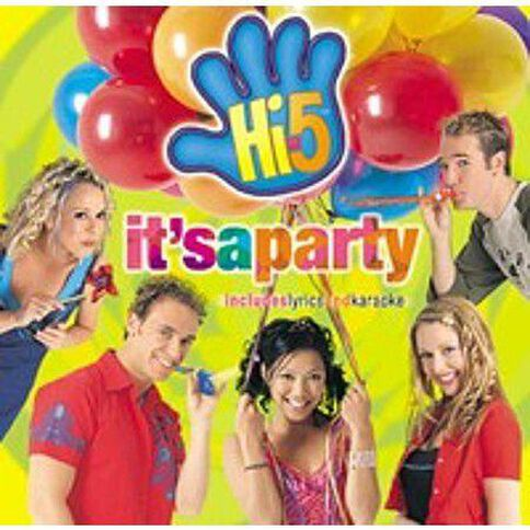 It's A Party by Hi-5 CD