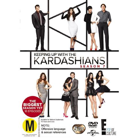Keeping Up with The Kardashians Season 7 DVD 5Disc