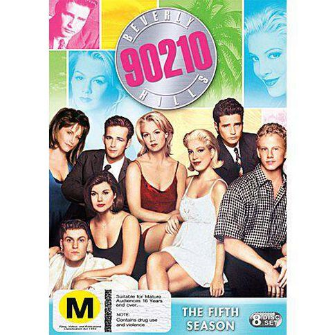 Beverly Hills 90210 Season 5 DVD 8Disc
