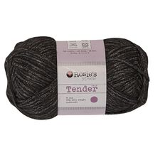 Rosie's Studio Trends Yarn Tender Knit Black 100g