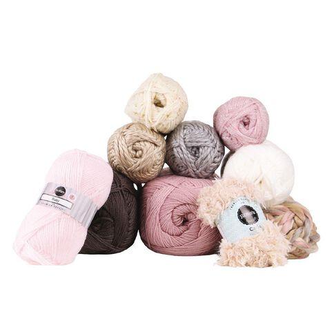 Rosie's Studio Baby Yarn 4-Ply Baby Pink 50g