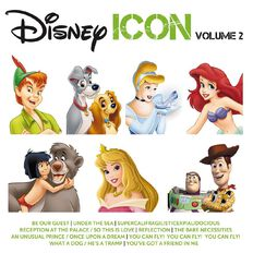 Icon Disney Volume 2 CD by Various Artists 1Disc