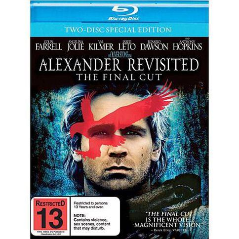 Alexander Revisited Blu Ray DVD