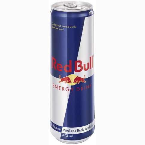 Red Bull Energy Drink Can 473ml