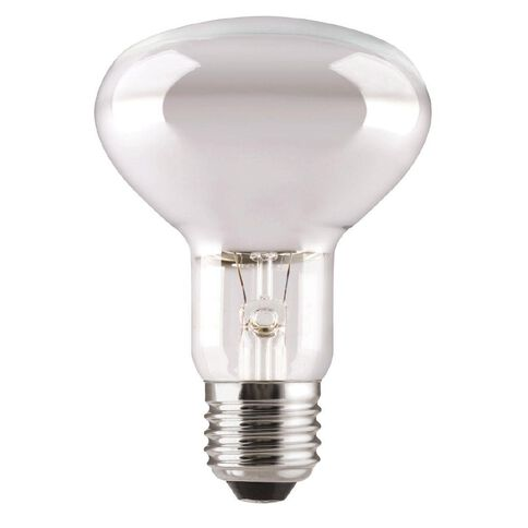 General Electric Incandescent Reflector Bulb R80 75W E27 Frosted