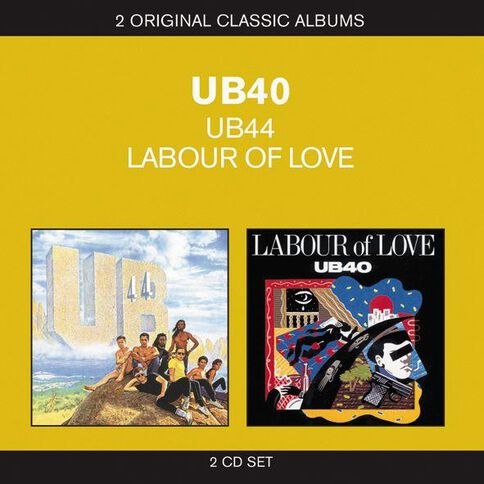 2-in-1 UB40/Labour of Love CD by UB40 2Disc
