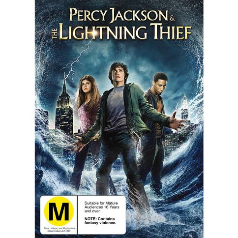 Percy Jackson The Lightning Thief DVD 1Disc