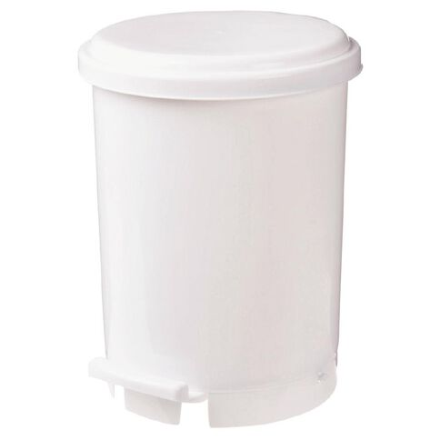 Necessities Brand Rubbish Bin with Pedal 7.6L
