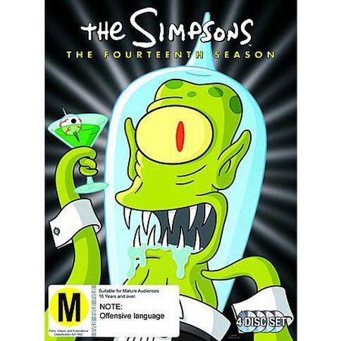 The Simpsons Season 14 DVD 4Disc