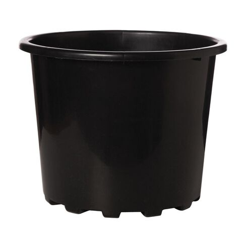 Interworld Planter Recycled Resin Black 50L