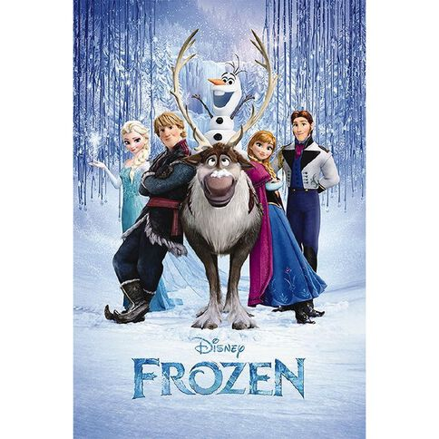Disney Frozen Group Poster