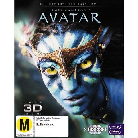 Avatar 3D Blu-ray 2Disc