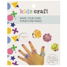Kids' Art & Craft Make Your Own Rhinestone Rings