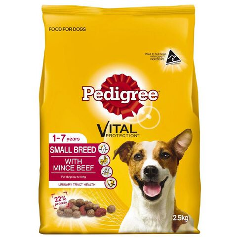 Pedigree Small Breed Beef 2.5kg