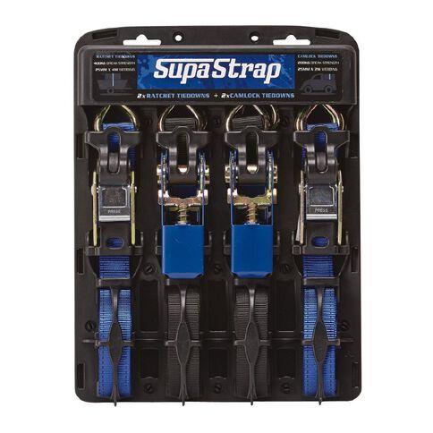 SupaStrap Tiedown Combo 4 Pack