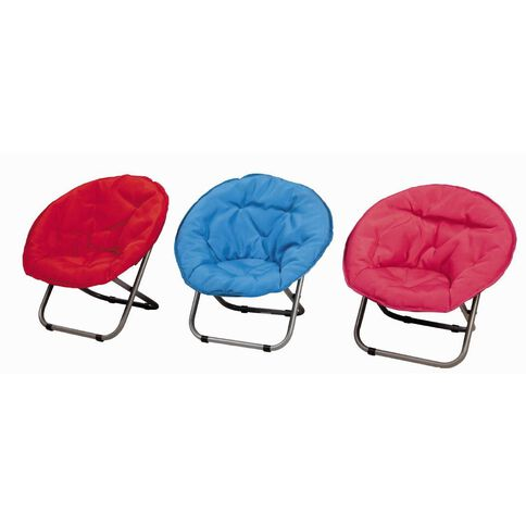 Kids Caboodle Moon Chair Brite Assorted Colours