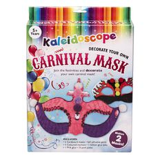 Kaleidoscope Mask Art Kit with Embellishments