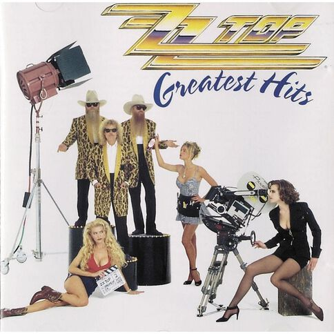 Greatest Hits CD by ZZ Top 1Disc