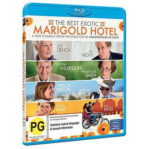 The Best Exotic Marigold Hotel Blu-ray 1Disc