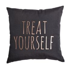 Living & Co Cushion Treat Yourself 43cm x 43cm
