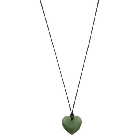 Jade Small Heart Pendant