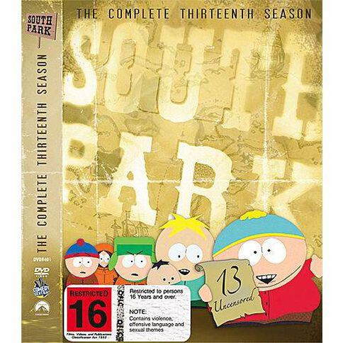 South Park Season 13 DVD 3Disc