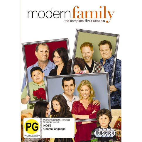 Modern Family Season 1 DVD 4Disc