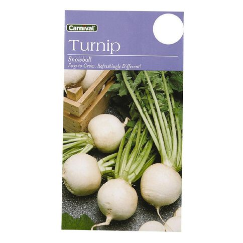 Carnival Seeds Turnip Snowball