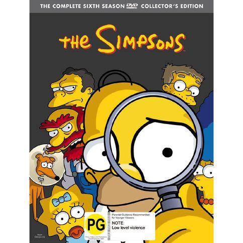 The Simpsons Season 6 DVD 4Disc