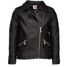 A'nD PU Biker Jacket