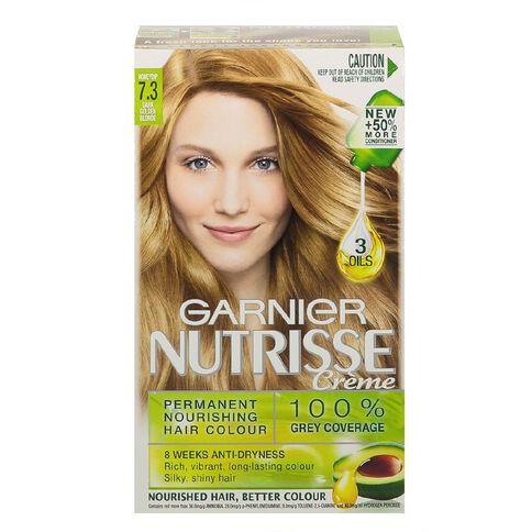 Garnier Nutrisse Permanent Creme Dark Golden Blonde Honeydrop 7.3
