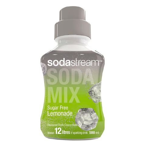 Sodastream Syrup Sugar Free Lemonade 500ml