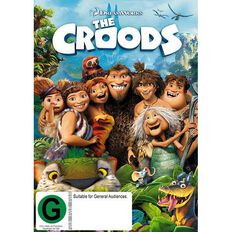 The Croods DVD 1Disc
