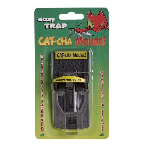 Easy Trap Catcha Plastic Mouse Trap 1 Pack