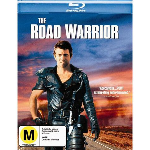 The Road Warrior Blu-ray 1Disc