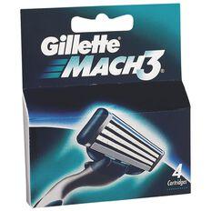 Gillette Mach3 Blades 4 Pack