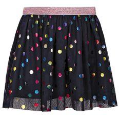 Hippo + Friends Toddler Girl Tutu Sparkle Skirt