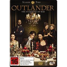 Outlander Season 2 DVD 6Disc