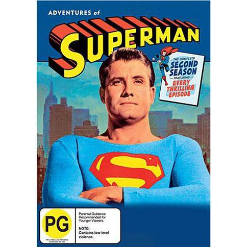 Adventures Of Superman Season 2 (5 Discs) 5DVD