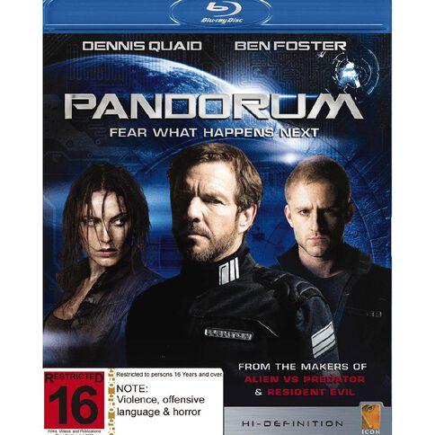 Pandorum Blu-ray 1Disc