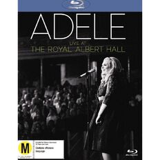 Live At The Royal Albert Hall Blu-ray/CD by Adele 2Disc