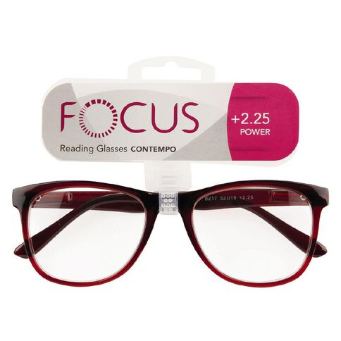 Focus Reading Glasses Contempo 2.25