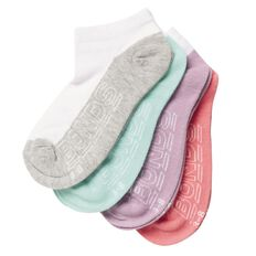 Bonds Women's Light Trainer Socks 4 Pack