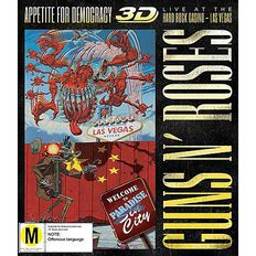 Appetite for Democracy 3D Live Blu-ray by Guns N' Roses 1Disc