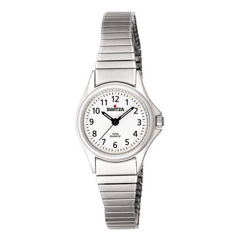Switza Ladies' Stainless Steel Classic Watch