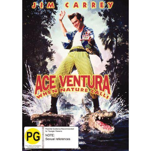 Ace Ventura When Nature Calls DVD 1Disc